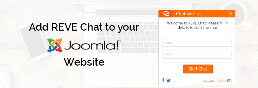 Joomla live chat extension integration with REVE Chat SaaS Software