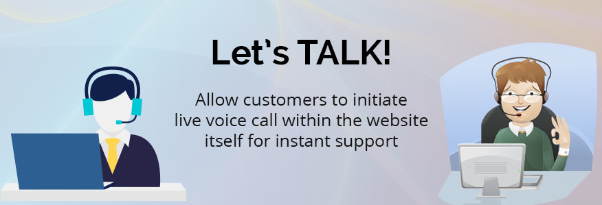 REVE Chat live voice calling facility