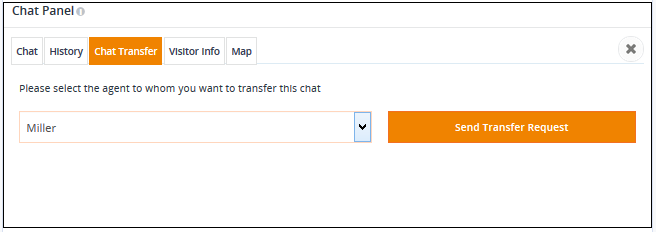 REVE Chat- Transfer your Chat to Another Agent