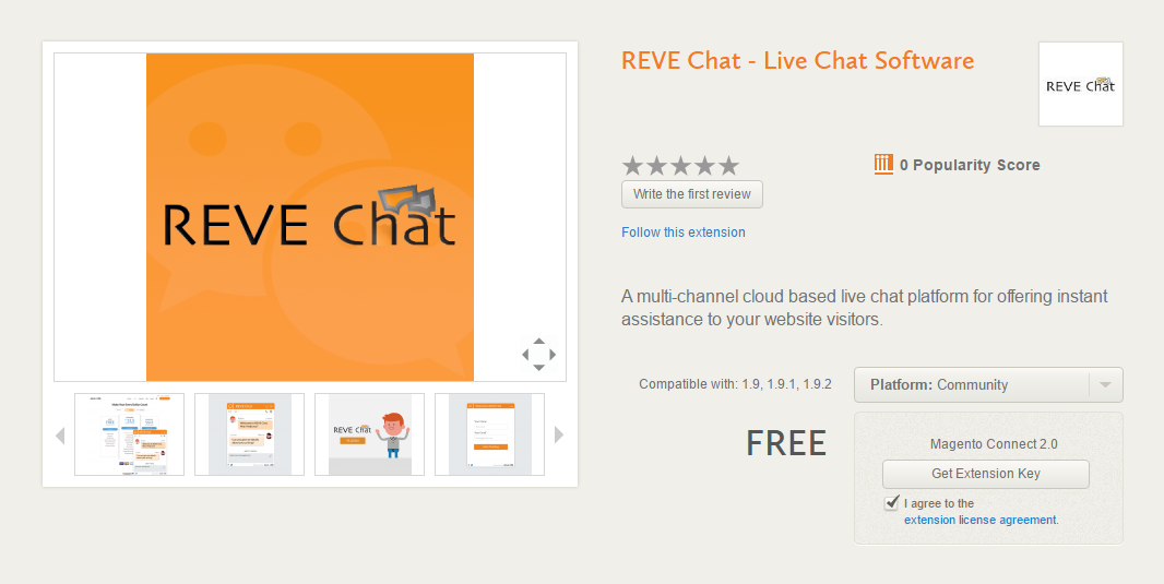 REVE-Chat-get-extension-key