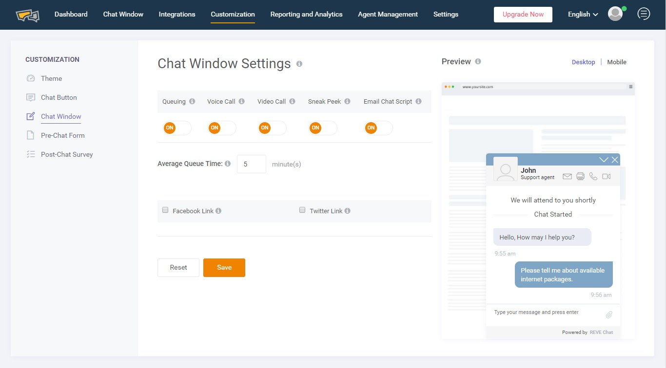 revechat-dashbaord-chat-window