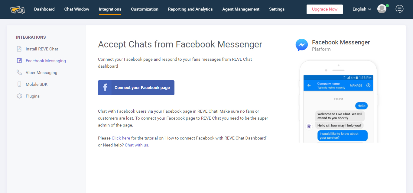 Facebook help live chat uk