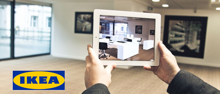 ikea-virtual-reality-example for e-commerce trends