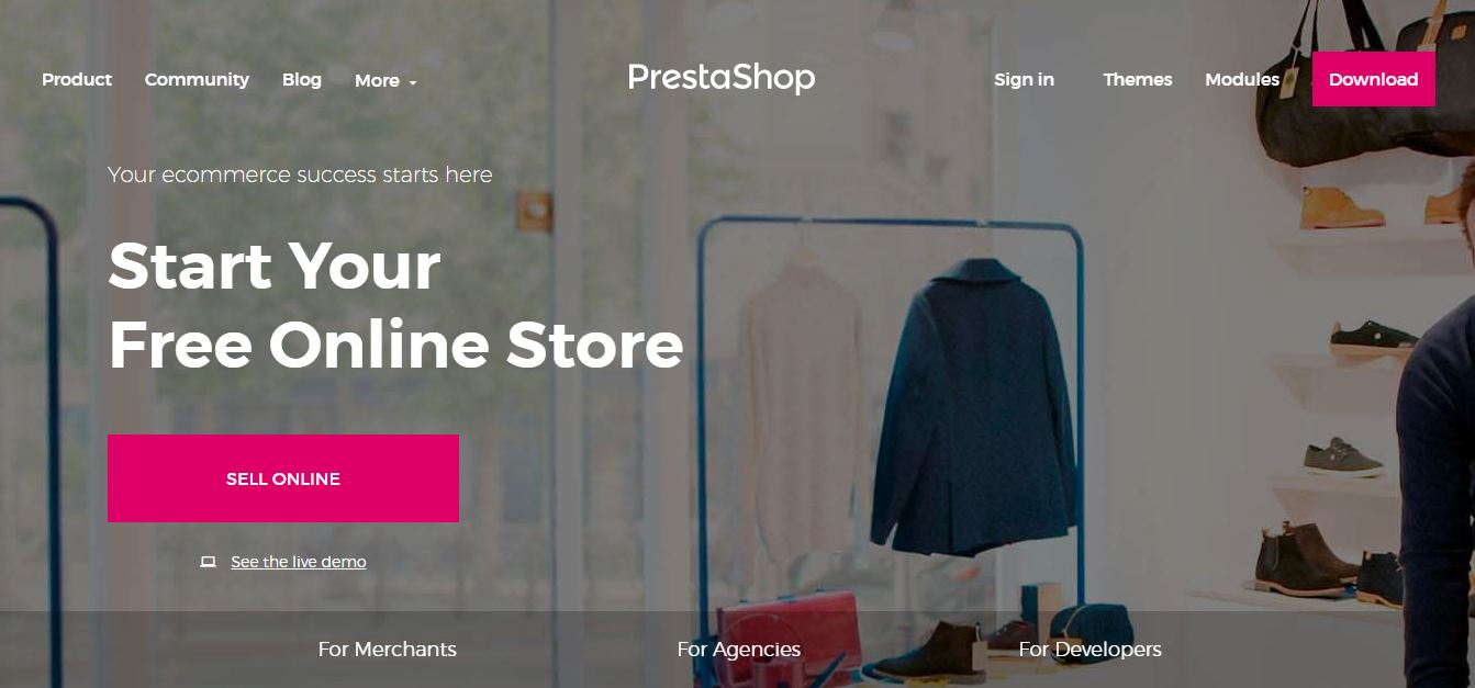 Prestashop- Open Source eCommerce Software