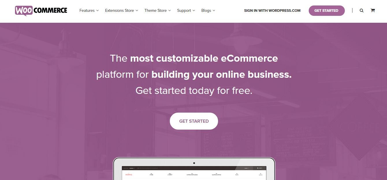 Woocommerce- Open Source eCommerce Platform