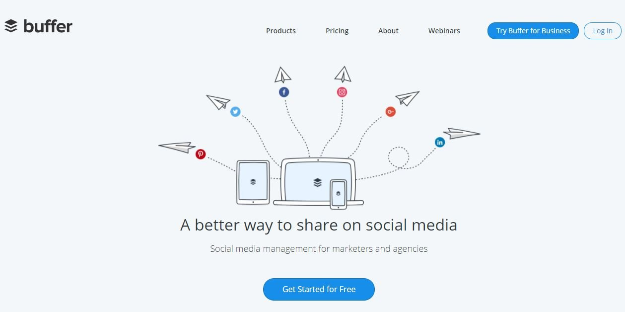 Buffer- Social Media Management Tool