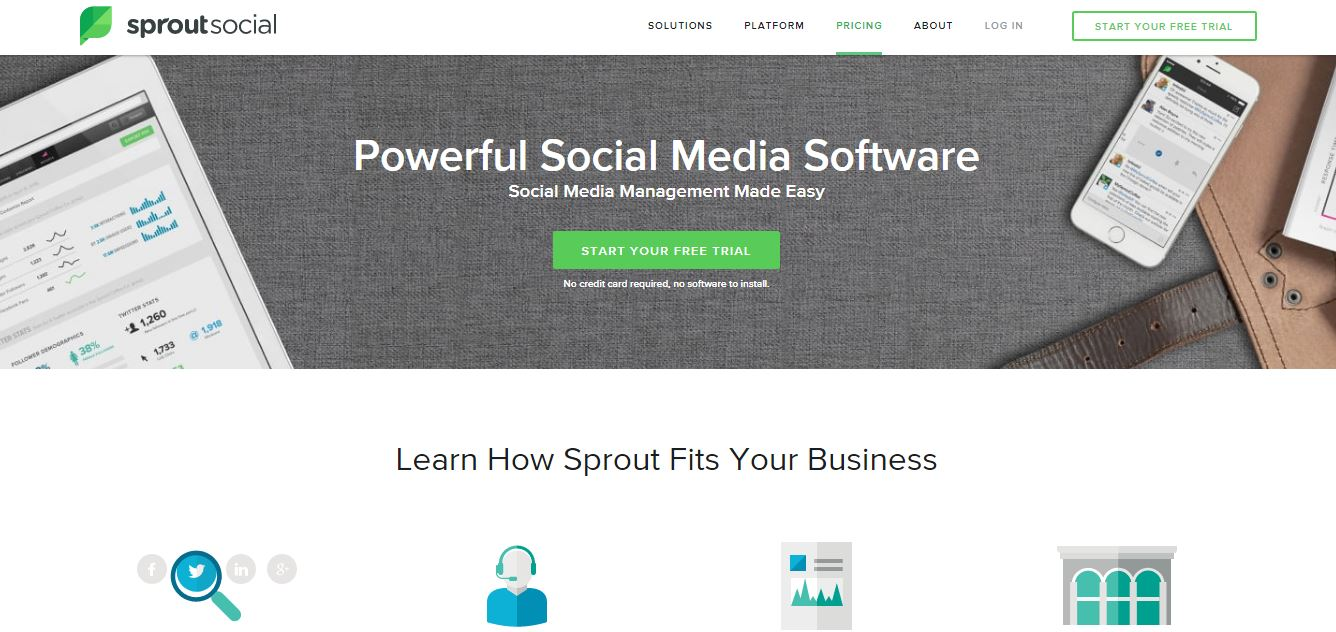 Sprout Social- Social Media Management Tool