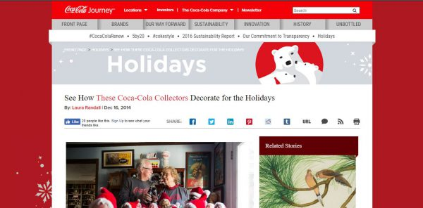 Coca Cola Website Christmas