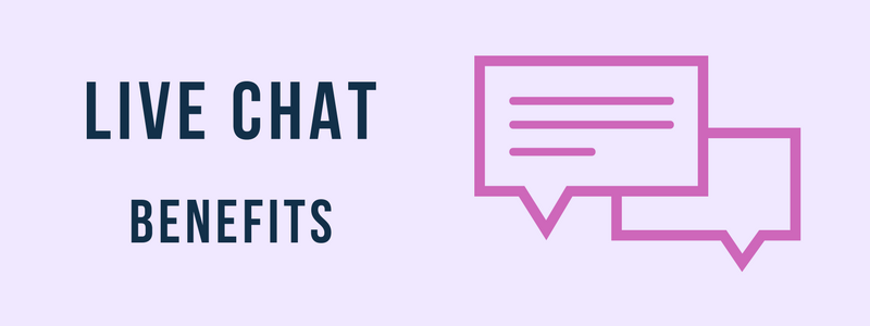 Top 6 Areas where Live Chat Benefits your Business