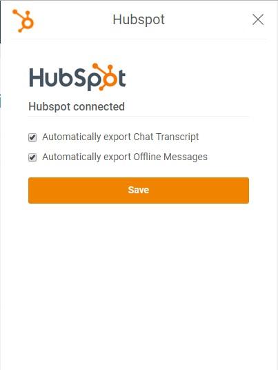 hubspot live chat integration step 8