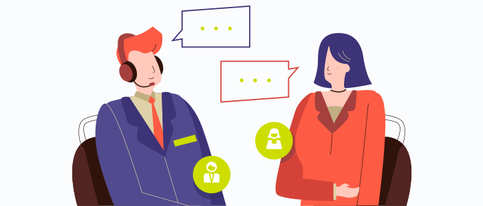 Personalized customer service for better customer experience