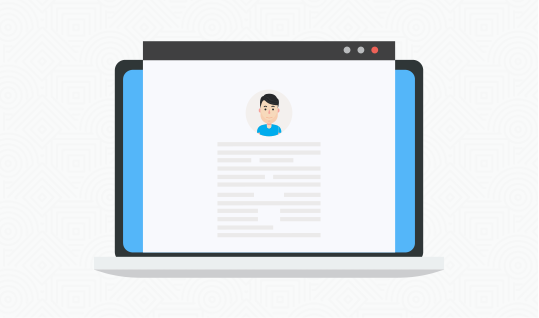 Live chat customer profile service