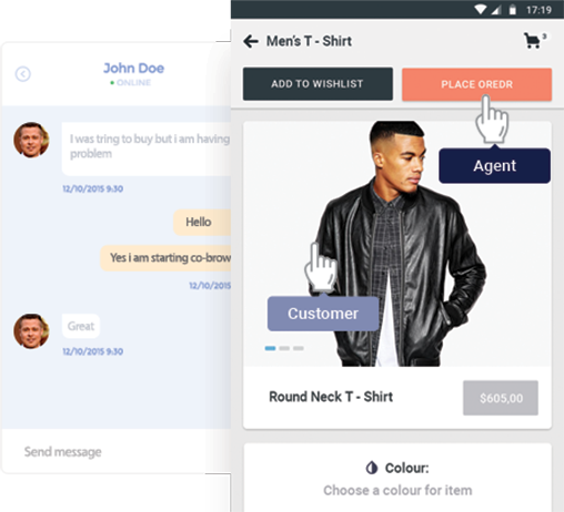 live chat widget for e commerce business