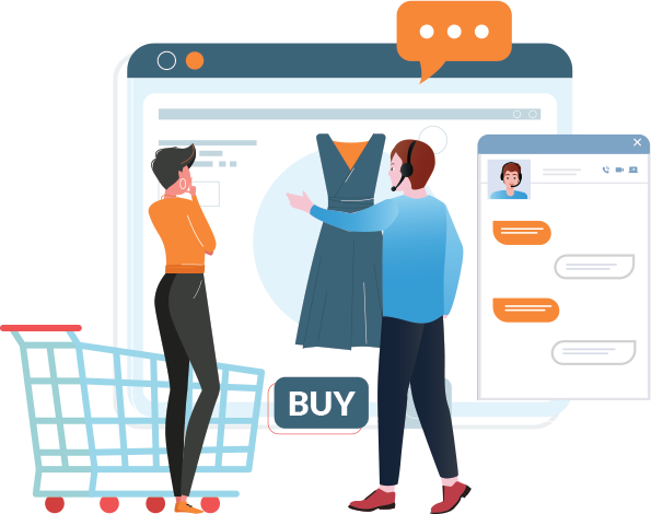 Live chat for E-commerce and Retail Stores