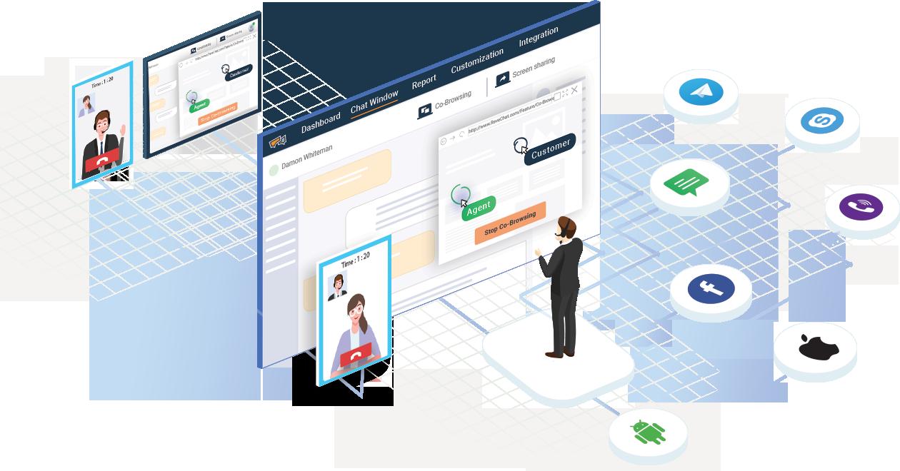 Customer Engagement Software Platform