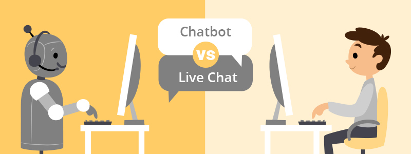 Chatbot vs Live Chat: The Pros & Cons for Your Business
