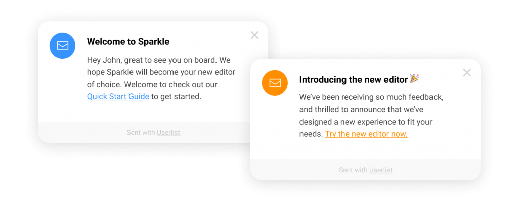 12 Successful Welcome Message Examples For Customer Onboarding