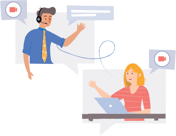 Make personal conversations with video voice chat