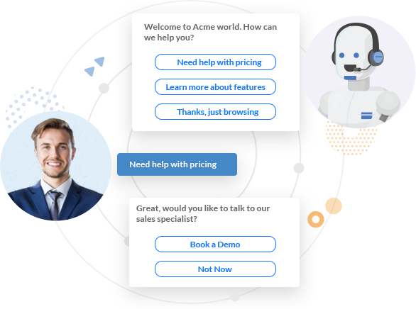 Scale your Customer Support and Sales with AI Chatbots