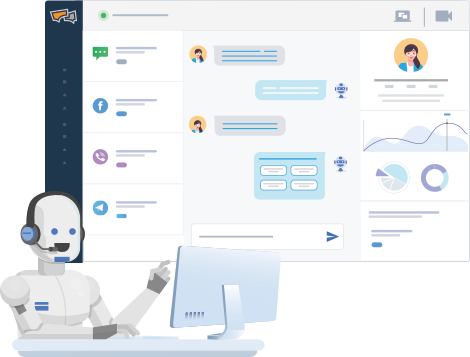Automate your online customer support and sales