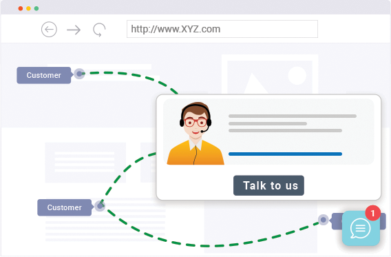 Help your users through the entire customer journey