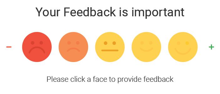 Ask customer feedback