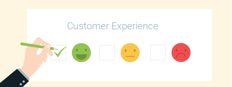 Ask customer feedback to improve CX