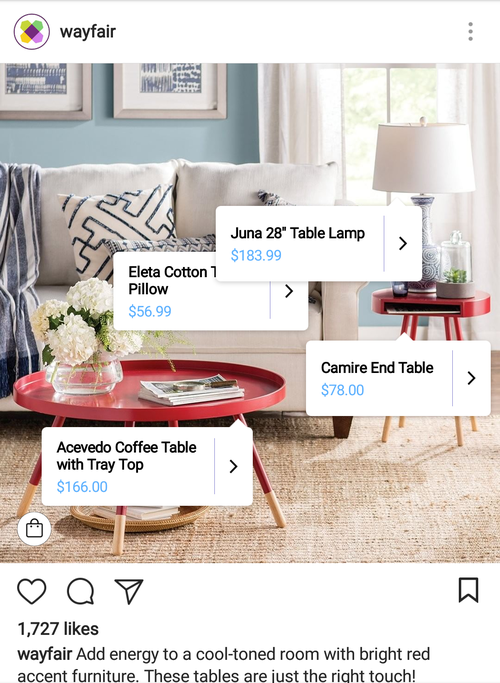 wayfair-instagram-shoppable-post